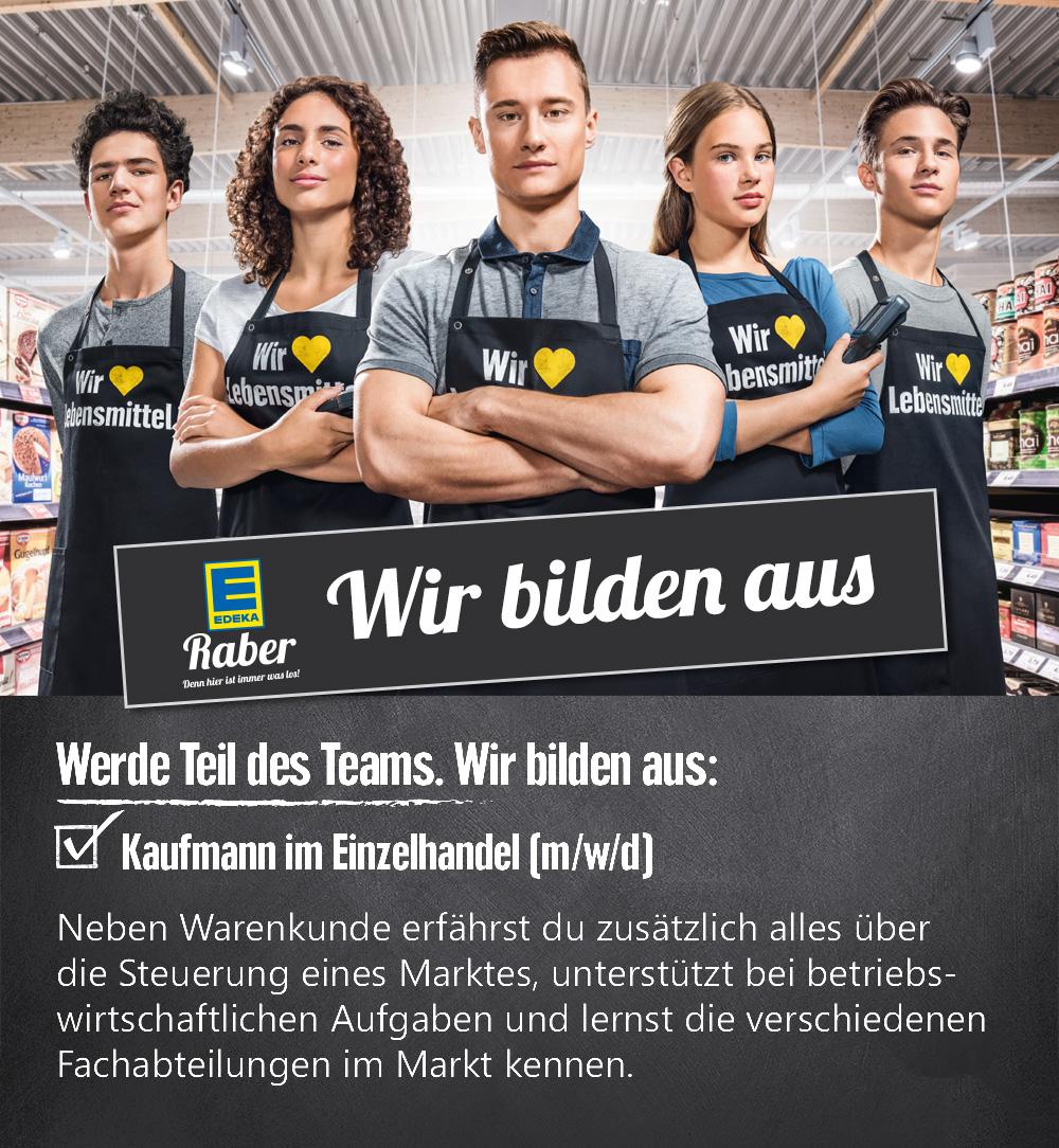 Ausbildung Kaufmann Einzelhandel - EDEKA Raber